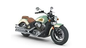 2018 Indian Motorcycles Scout ABS WILLOW GREEN/IVORY CREAM