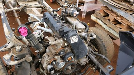 Toyota hilux 1kd-fte D4D diesel engine 12000km Whyalla Whyalla Area Preview