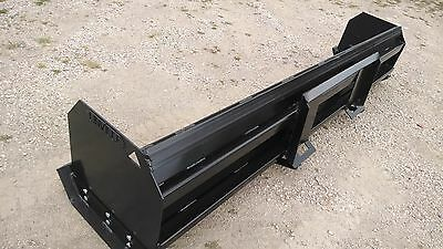 Linville 8ft Snow Pusher- Skid Steer Lifetime Warranty Made Usa  Local Pickup