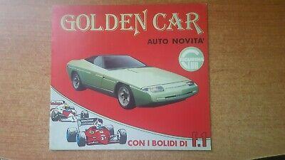 ALBUM FIGURINE CON BUSTINA GOLDEN CAR AUTO NOVITA-F.1 BAGGIOLI 1985 NUOVO