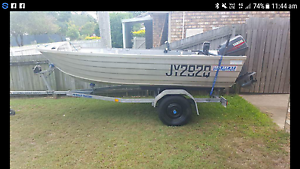 Sea Jay 3.75 Yamaha 20hp Waterford West Logan Area Preview