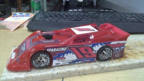 New Dirt Latemodel Ready to Race Car WOW !!! Red #19