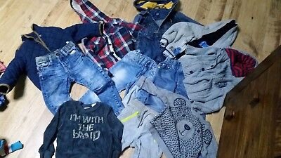 Wholesale Job Lot CHILDRENS clothing 1.5 - 4 YRS 12 ITEMS Trousers Jackets  B642