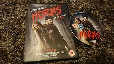 Horns (DVD 2015) Daniel Radcliffe ](Daniel Radcliffe Halloween)