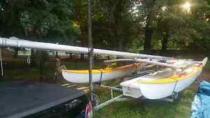 Hobie catamaran and trailer registered and ready to sail Kearneys Spring Toowoomba City Preview