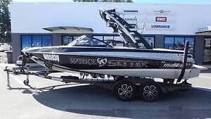 2013 Malibu Wakesetter VTX + Indmar Monsoon 350 - VGC!!! Boondall Brisbane North East Preview