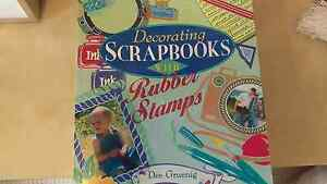 Scrapbooking with Rubber Stamps Maroochy River Maroochydore Area Preview