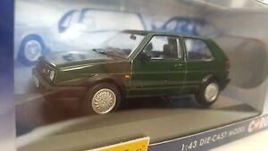 CORGI Vanguards VA13604A VW Golf MK2 GTi Green 1-43 scale model car