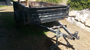 8 x 5 Nathan Boxed Trailer works. Single axle Brassall Ipswich City Preview