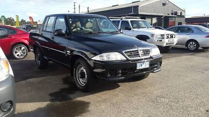 2007 Ssangyong Musso Ute Warragul Baw Baw Area Preview