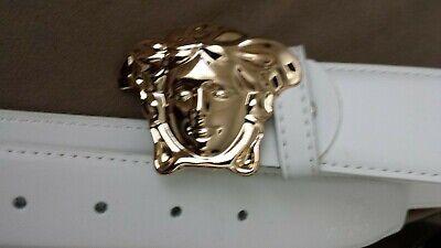VERSACE leather belt 30- 38