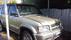 2002 holden jackaroo Swan Hill Swan Hill Area Preview