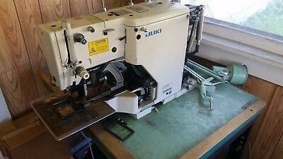 Juki Lk-982 Bar Tacker 28 Stitch Box Industrial Sewing Machine Camatron