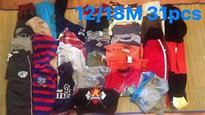 boy clothes size 12/18M  Fall/ winter