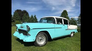 1955 Chevrolet Belair V-8 Automatique (chevy Bel Air)