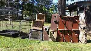 Bird cage and nest box Greta Cessnock Area Preview