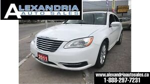 2011 Chrysler 200 LX/4CYL/clean/safety included