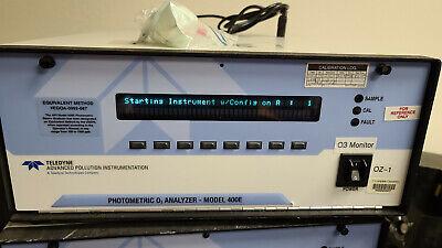 Teledyne Api Advanced Pollution Photometric O3 Analyzer M400e 400e-cy5