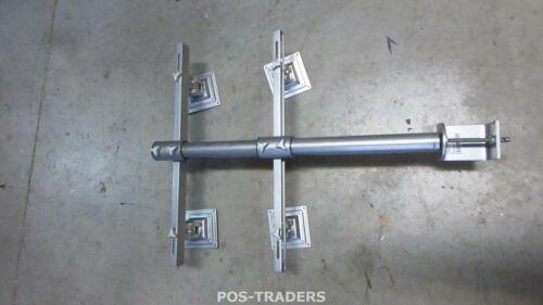 ERGOARM M1720 Quad Monitor Desk Stand Clamp Silver