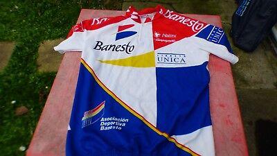 maillot de vélo Banesto Nalini T 4