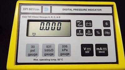 Druck Dpi 601csatris Csa Digital Pressure Calibrator