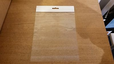 2000 Quantity 178 x 178 x 40 (mm) 70mu Clear Sealing Poly Bags with Handle