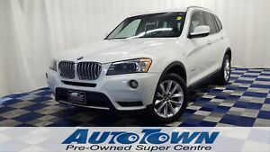 2014 BMW X3 xDrive35i/ACCIDENT FREE/PANO ROOF/BCK UP CAM