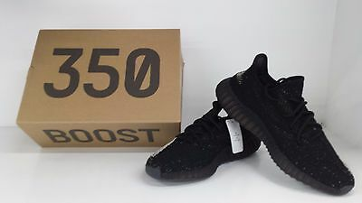Adidas Yeezy Boost 350 V2 Blk / Red CP9652 DS Sz 10.5