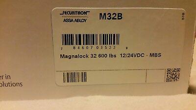 Securitron M32b Magnalock 1224 Vdc Bondstat 600lb Mag Lock