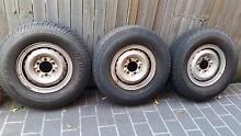 5 Split Rims with Tyres Strathfield Strathfield Area Preview