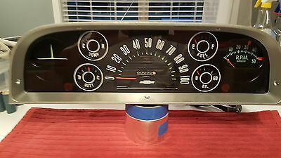 1960, 1961, 1962, 1963 Chevy Truck Instrument Gauge Cluster Panel