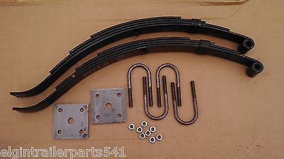 2,000 # axle suspension kit. Incl. (2) 1000 lb springs and u-bolt kit ( trailer