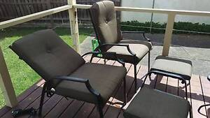 Marquee reclining outdoor chairs Bundoora Banyule Area Preview