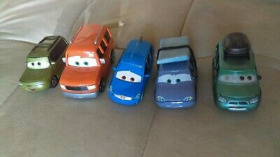 Disney Pixar Cars Diecast Lot Rare Vans Leroy Traffik Murphy Van Alex Vandel