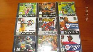 Bundle of PS1 Games Ourimbah Wyong Area Preview