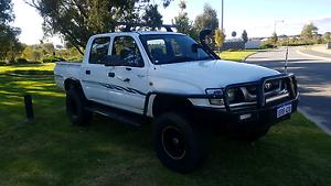 2003 toyota hilux turbo dual cab Baldivis Rockingham Area Preview