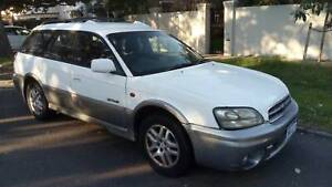 2002 Subaru Outback  5 Sp Manual can licence with some work, runs well