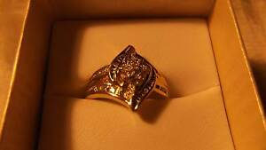 9ct Yellow Gold & Genuine Diamond Ring Koo Wee Rup Cardinia Area Preview