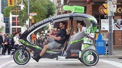 Pedicab Rickshaw Veloform Electric Battery assist Bicycle taxi City Cruiser II