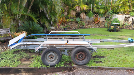 Dual Axle Tinka Boat Trailer
