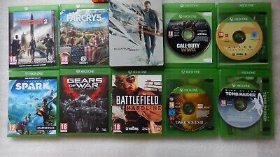 XBOX ONE Games Bundle,The Division 2 Xbox One,Far Cry 5,Dark Souls,Spark,WWII, usado segunda mano  Embacar hacia Spain