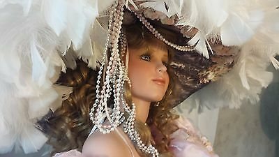 Lady Catherine Porcelain Doll by Rustie, 42'' Tall- #18 of 750!