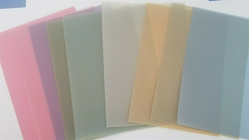 Anna Griffin Everyday Solid Color Vellum Sheets 12 x 12 - Set of 9