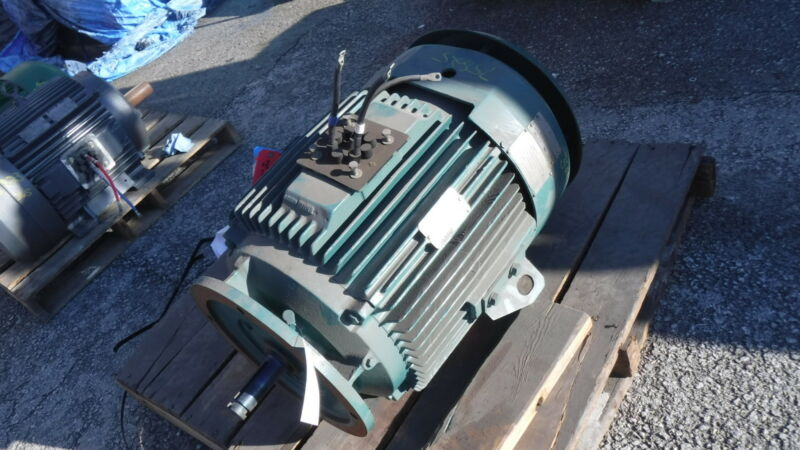 60 Hp Reliance Electric Motor, 1800 Rpm, 364hp Frame, Tefc, Vss 460 V