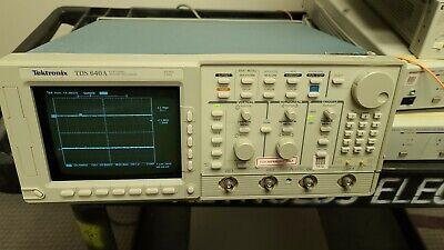 Tektronix Tds 640a Channel Digitizing Oscilloscop 500mhz 4ch 2gss