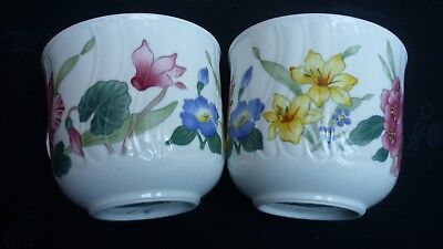 2 x V & B Villeroy & Boch Flora Bella Kaffee Tassen Humpen RAR gebraucht kaufen  Freigericht