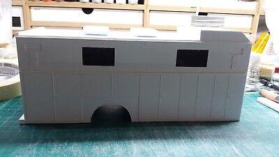 Model Fire truck rescue body  Semi   1:24 1:25 scale model Diorama - Fire Truck Body