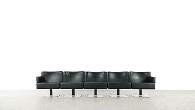Modulares Sofa Set (Herbert Hirche -Modular Lounge Sofa / Chair / Table Set by Mauser, 1974 Germany)