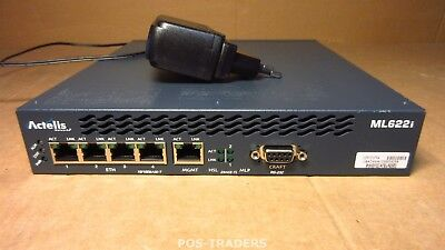 Actelis MetaLIGHT 622 ML622 Ethernet Access Device 4-PORT INCL PSU