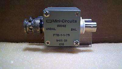 Mini Circuits 15542 Ftb-1-1-75 9411 01 C15 Rf Transformer